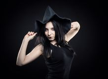 Sexy witch Royalty Free Stock Photography