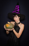Witch Costume Stock Images
