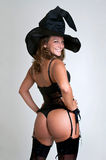 Sexy witch Royalty Free Stock Photos
