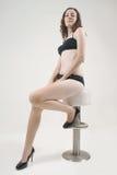 Sexy woman. A beautiful woman in bikini portrait Royalty Free Stock Photography