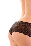 Sexy woman ass in lingerie Royalty Free Stock Image