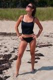 Sexy Woman on Beach Stock Photos
