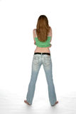 woman from behind Stock Image