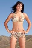 Sexy woman in bikini Royalty Free Stock Photography