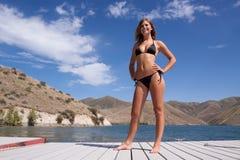 Sexy woman in bikini Stock Image