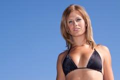 Sexy woman in bikini Royalty Free Stock Images