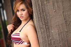 Sexy woman in bikini Royalty Free Stock Photos
