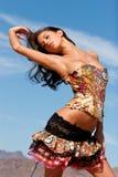 Sexy woman in corset Stock Photos