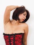 Sexy woman in corset Stock Photography