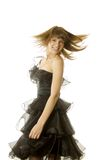 Sexy woman dancing Royalty Free Stock Images