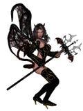 Sexy woman devil Stock Photos