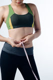 Sexy woman diet abs. Photo of Sexy woman diet abs Royalty Free Stock Images