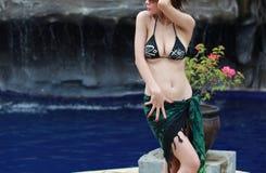 woman enjoy outdoor Royalty Free Stock Photos