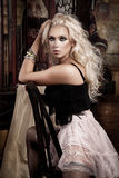 Sexy woman fashion model  Royalty Free Stock Photography