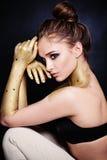 Sexy Woman Fashion Model Royalty Free Stock Image