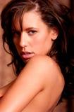 Sexy woman headshot Stock Photo