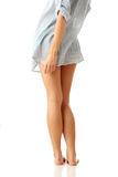 Sexy woman legs. Isolatd on white background Royalty Free Stock Photography