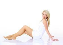Sexy woman legs Stock Photos