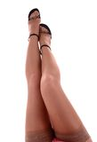 Sexy woman legs Stock Images
