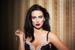 Sexy woman at night Stock Photos