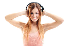 Music babe Royalty Free Stock Photo