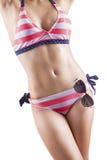 Sexy woman posing in studio Stock Image