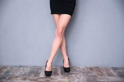 Sexy woman`s legs Stock Image