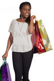 woman with shoping bags Stock Photo