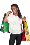 woman with shoping bags Royalty Free Stock Photography