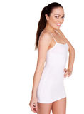 Sexy Woman In Short Summer Dress Royalty Free Stock Photography