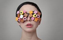Sweet glasses Royalty Free Stock Photos