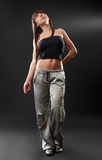 Sexy woman in studio Stock Photos