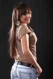 Sexy woman in studio Stock Photo