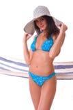 woman wearing bikini Royalty Free Stock Photo