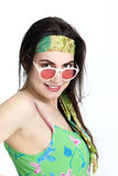 Sexy woman wearing a headband Stock Images