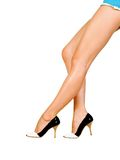Sexy Women Legs. Image of smooth and beautiful female legs Stock Photos