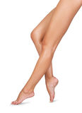 Sexy Women Legs. Image of Smooth and beautiful female legs Royalty Free Stock Images