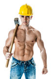 Sexy Worker Royalty Free Stock Image