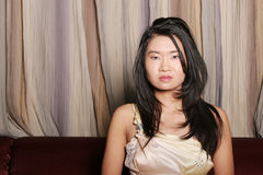 Sexy young Asian woman Stock Image