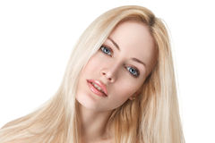 Sexy young blonde girl Royalty Free Stock Image