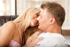 Sexy young couple Stock Photo