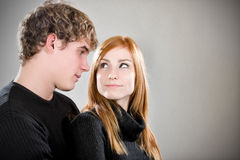 Sexy young couple Stock Image