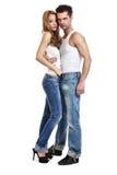Sexy young couple Stock Photos