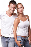 Sexy young couple Royalty Free Stock Images
