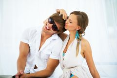 Sexy young couple Royalty Free Stock Photo