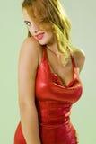 Sexy young girl. Posing in seductive attitude Royalty Free Stock Photos
