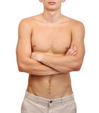 Sexy young guy Stock Image