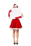Sexy young Santa Claus woman Royalty Free Stock Photos