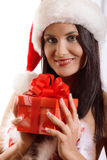 Sexy young Santa Girl Royalty Free Stock Photo