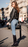 young street fashion. Stock Images